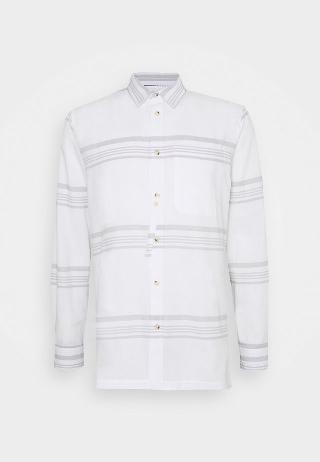 LOUIS STRIPE - Skjorte - white