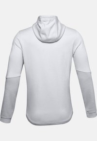 Under Armour - DOUBLE KNIT  - Hoodie met rits - halo gray - 5