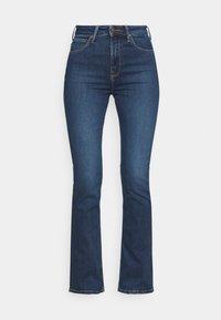 Lee - BREESE BOOT - Jeans bootcut - dark bristol - 4