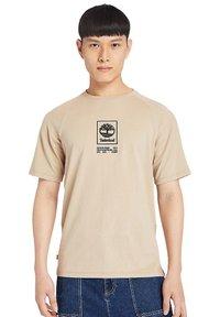 Timberland - Print T-shirt - humus - 0