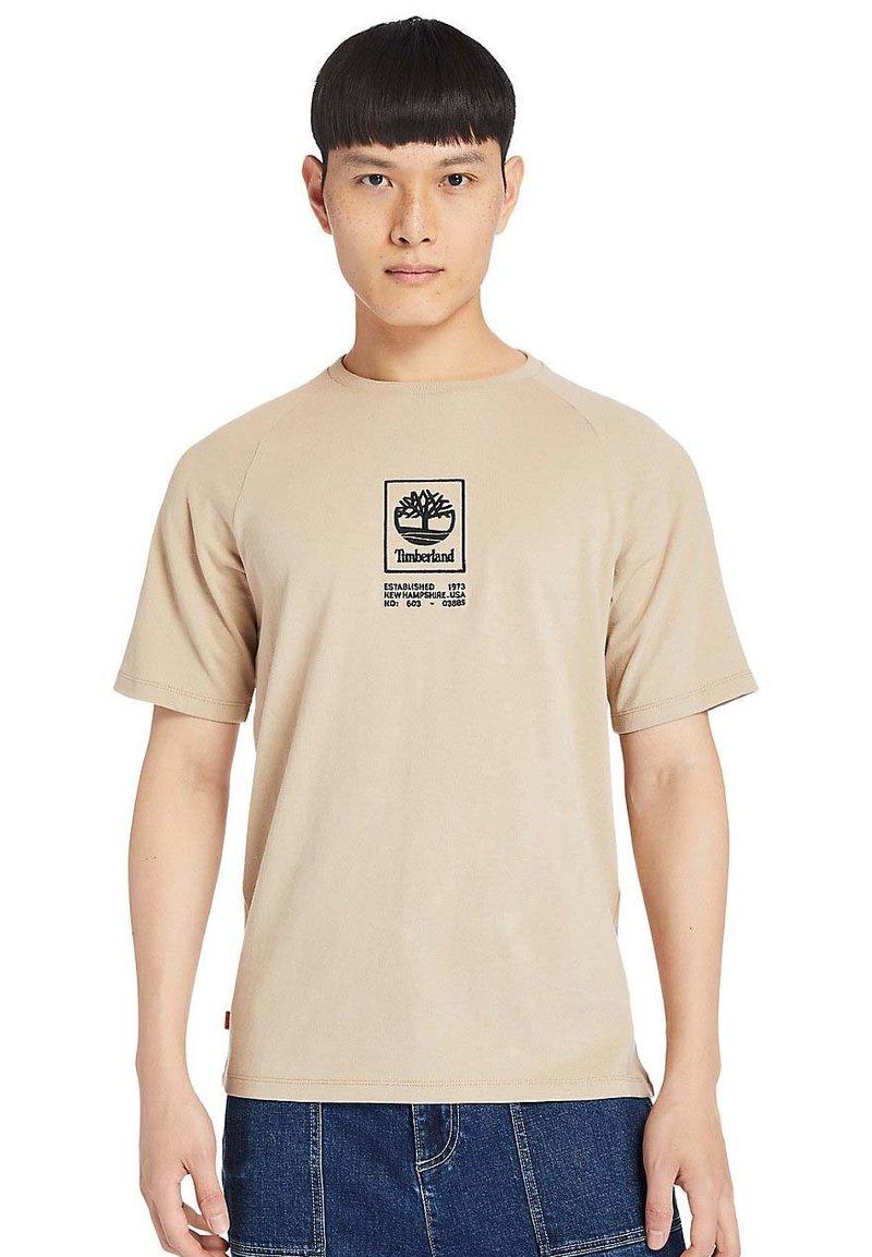 Timberland - Print T-shirt - humus