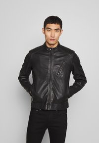 Belstaff - RACER - Leather jacket - black - 0