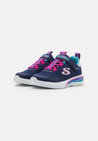 Skechers - DYNAMIGHT 2.0 - Trainers - navy sparkle/multicolor - 1