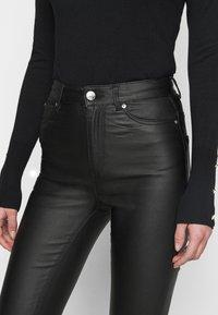 ONLY Tall - ONLOPTION SUPER COAT  - Jeans Skinny Fit - black - 4