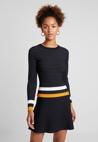 Morgan - Jumper dress - marine/fauve - 0