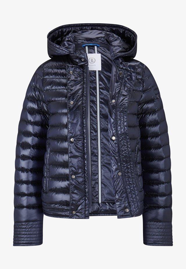 Gewatteerde jas - navy-blau