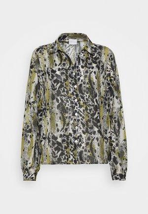VIJEMO  - Button-down blouse - birch/kallia