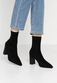 RAID - VANESSA - High heeled ankle boots - black - 0