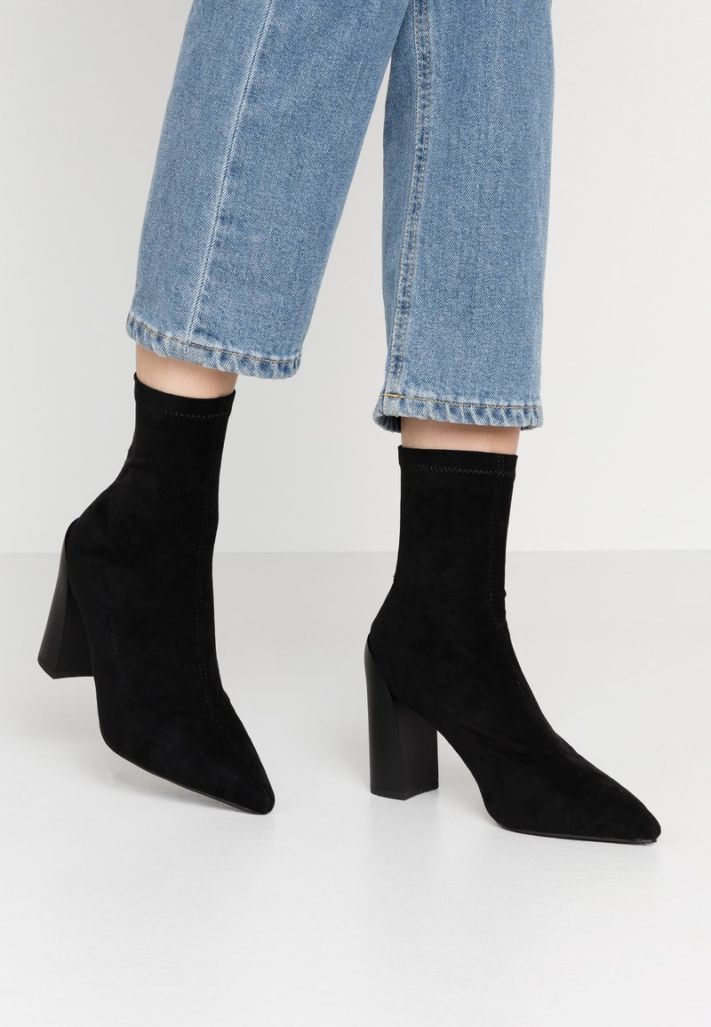 RAID - VANESSA - High heeled ankle boots - black