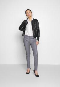 Oakwood - Kožené kalhoty - grey - 1