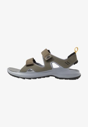 HEDGEHOG - Walking sandals - new taupe green/black