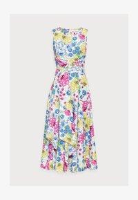Thought - TABITHA TIE WAIST FLARE DRESS - Day dress - white - 4