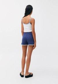 PULL&BEAR - Shorts - dark blue - 2