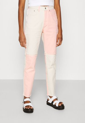 CARNIVAL  - Jeans a sigaretta - pink/beige