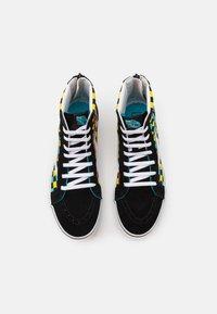 Vans - SK8 ZIP UNISEX - High-top trainers - black/multicolor - 3