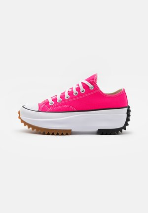 RUN STAR HIKE PLATFORM UNISEX - Trainers - hyper pink/white