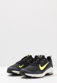 Nike Performance - AIR MAX ALPHA TRAINER 2 - Sports shoes - black/volt/dark smoke grey/spruce aura - 2