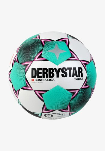 BUNDESLIGA BRILLANT REPLICA FUSSBALL - Football - weiß / pink / grün