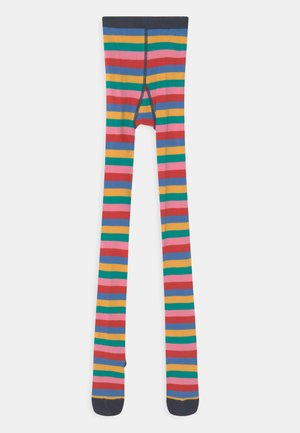 KIDSTAMSYN RAINBOW STRIPE - Tights - multi-coloured