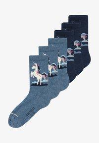 camano - ONLINE CHILDREN FASHION 6 PACK - Ponožky - blue - 2