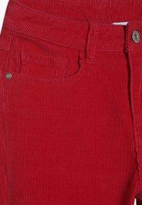 Grunt - FLARE - Spodnie materiałowe - neon pink - 3