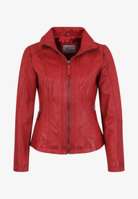 7eleven - PADUA  - Leather jacket - red - 3