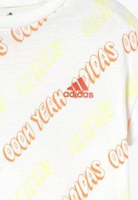 adidas Performance - SET - Collants - white/yeltin/semcor - 4