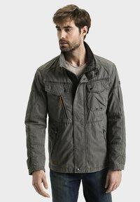camel active - MIT STEHKRAGEN - Summer jacket - grey - 0