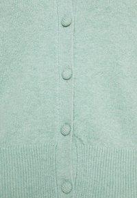 Marks & Spencer London - PLEAT SLEEVE  - Cardigan - green - 2
