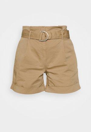 PAPERBAG - Shorts - travertine