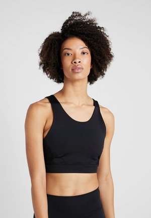 MISTY CROP - Topper - black