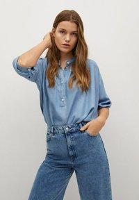 Mango - CAROLINE - Flared Jeans - middenblauw - 3