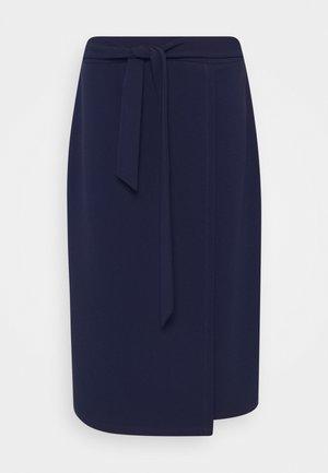 Pencil skirt - evening blue