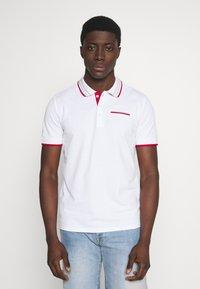 Guess - LES SS POLO - Koszulka polo - blanc pur - 0