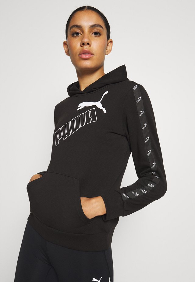 AMPLIFIED HOODIE - Jersey con capucha - black