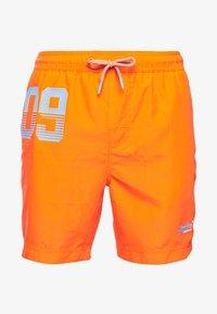 Superdry - WATERPOLO - Swimming shorts - havana orange - 3