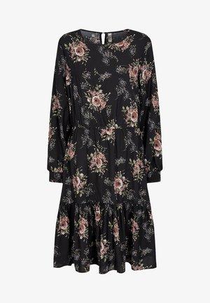 SC LENIA - Day dress - black flowers