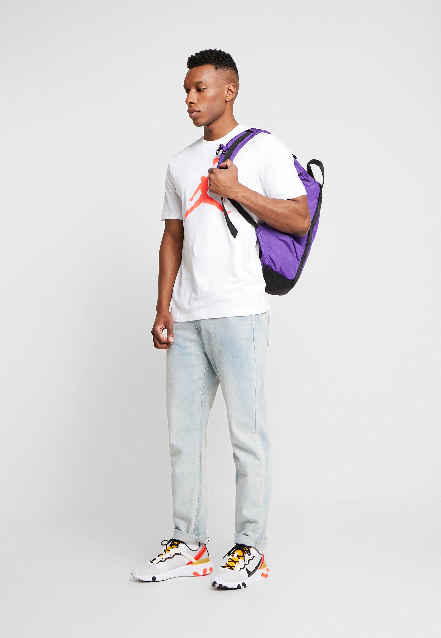 Jordan T-shirt Print - White/infrared