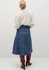 Violeta by Mango - LOLITA - A-line skirt - mellanblå - 2