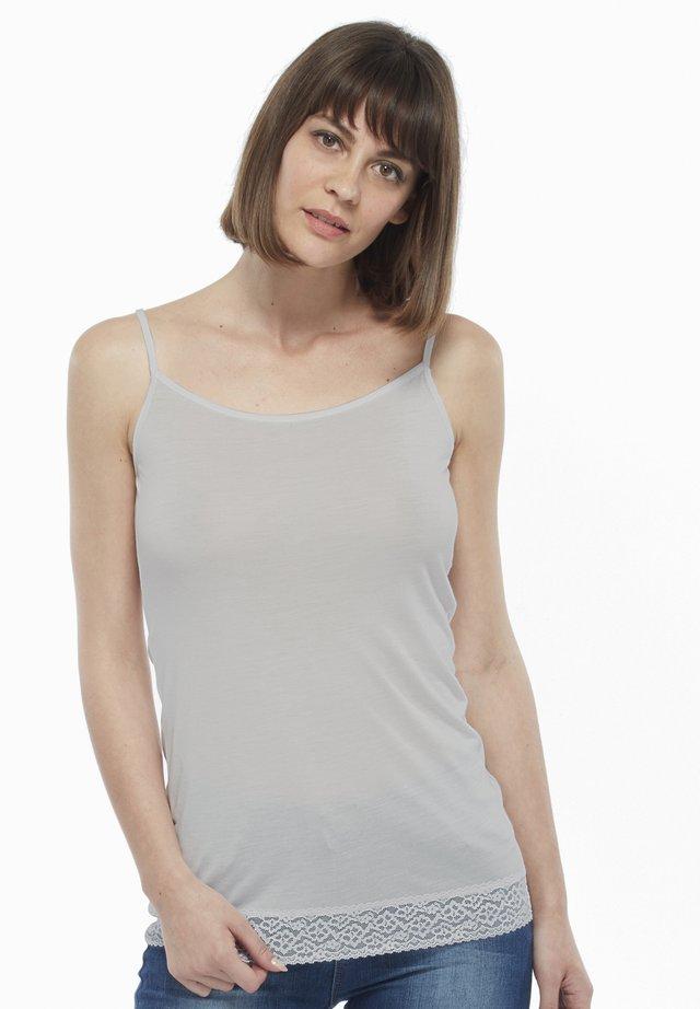 LOVABLE MAGLIERIA MODAL WOMAN - Top - light grey