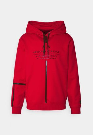 Sweatshirt - absolut red