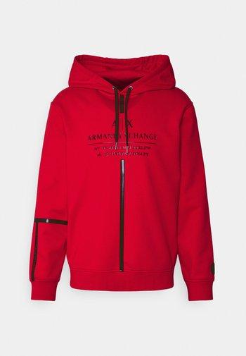 Sweatshirt - absolut red