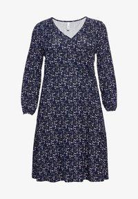 Sheego - Jersey dress - lila bedruckt - 4