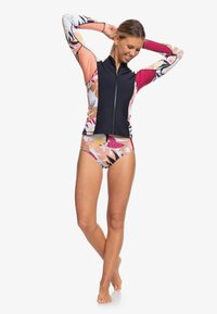 Roxy - 1MM POP SURF  - Rash vest - black/terra cotta - 1