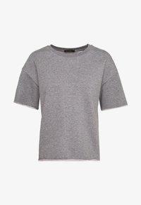 LUNIE - Basic T-shirt - grau