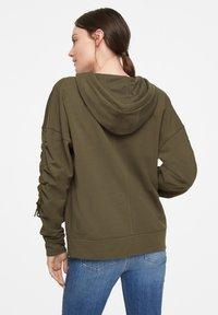 comma casual identity - Zip-up hoodie - khaki - 3