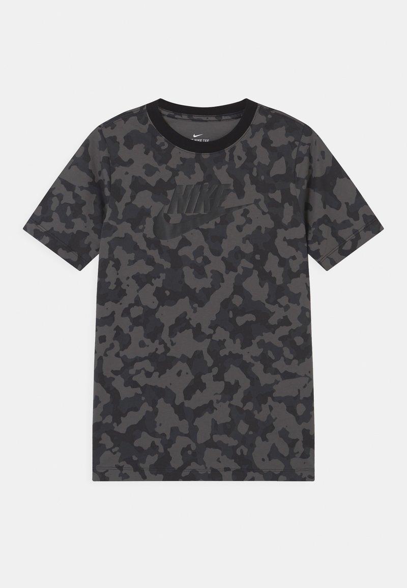 Nike Sportswear - FUTURA - T-shirt med print - iron grey
