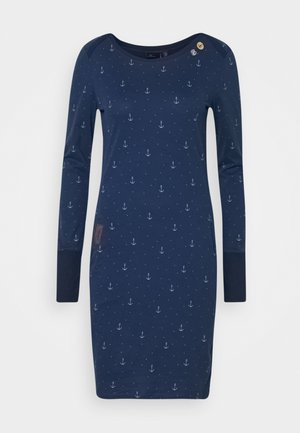 RIVER MARINA - Jersey dress - navy