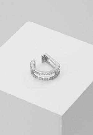 WISHBONE EAR CUFF - Earrings - silver-coloured