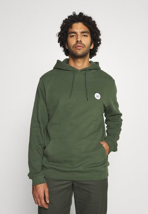 OUR SHAXY PATCH HOOD - Hoodie - army